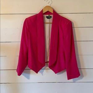 Bebe pink blazer